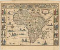 MAP, Africa, Blaeu