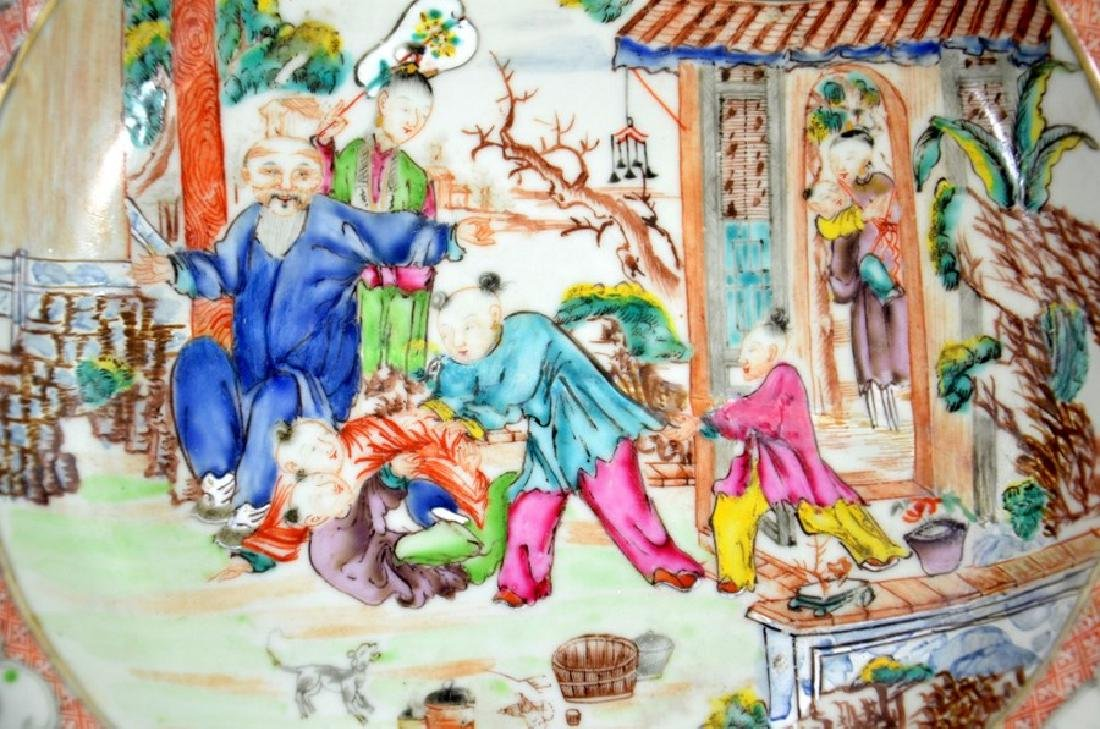 A Chinese famille rose dish, Qianlong, circa 1750, - 2