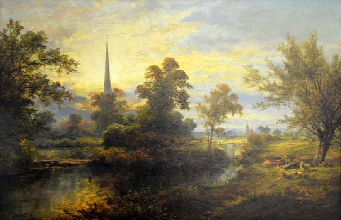 David Payne (1844-1891), A View on the Avon Near