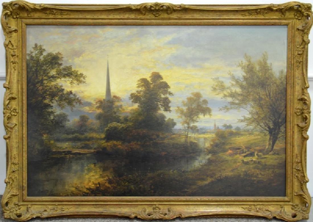 David Payne (1844-1891), A View on the Avon Near - 2