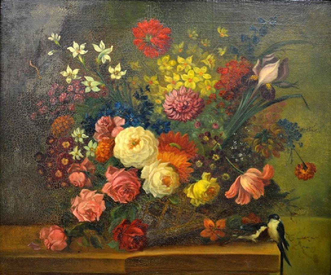 18th/19th Century Dutch School, Still Life with Flowers