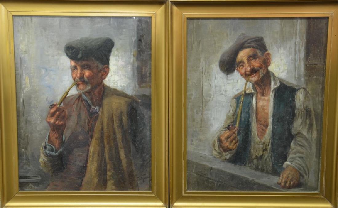Raffaele Frigerio (1878-1948), Portrait of an Old Man