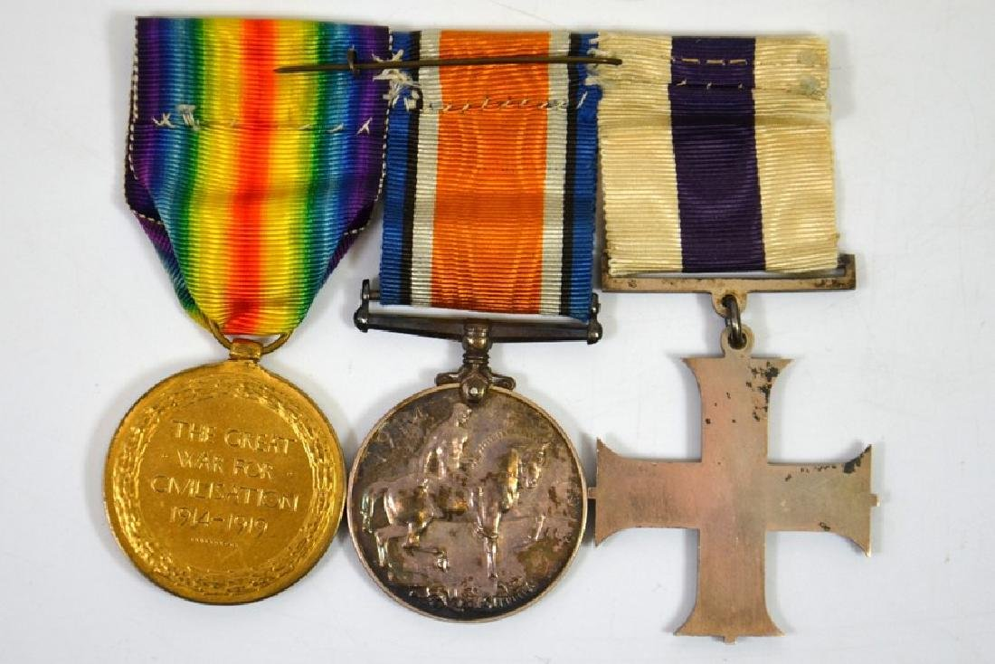 Military Medals, Military Cross,G.V.R., unnamed as - 2