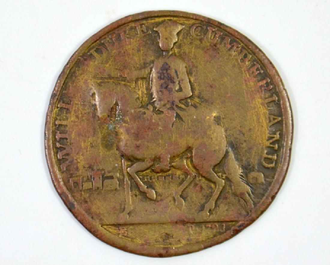 British Medals, William, Duke of Cumberland, Battle of