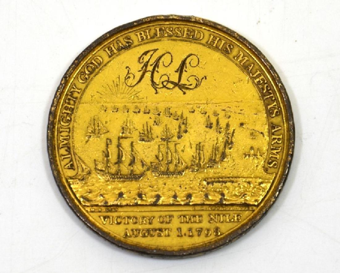British Medals,  Davison's Nile Medal - 2