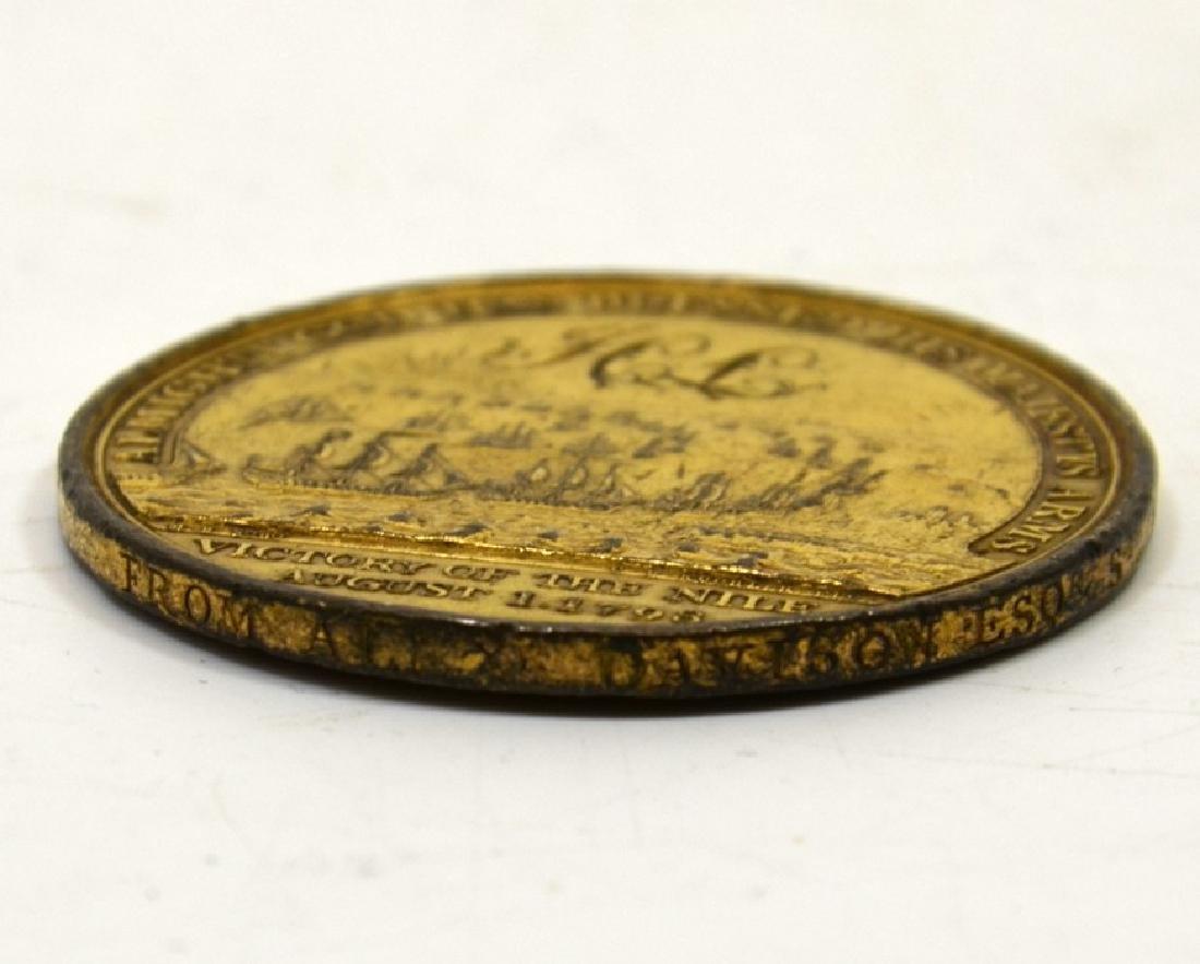 British Medals,  Davison's Nile Medal - 3