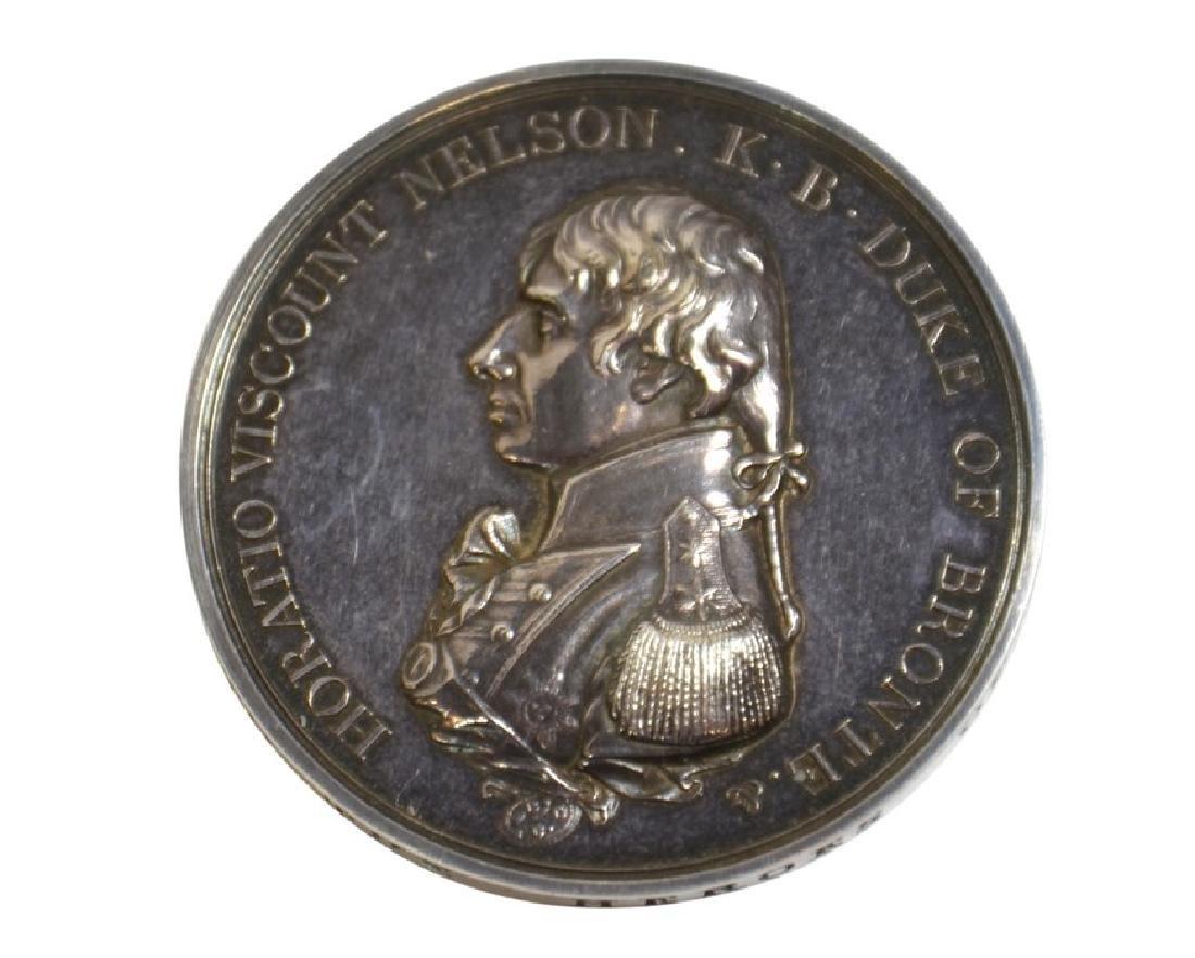 British Medals, Boulton's Trafalgar medal, silver medal