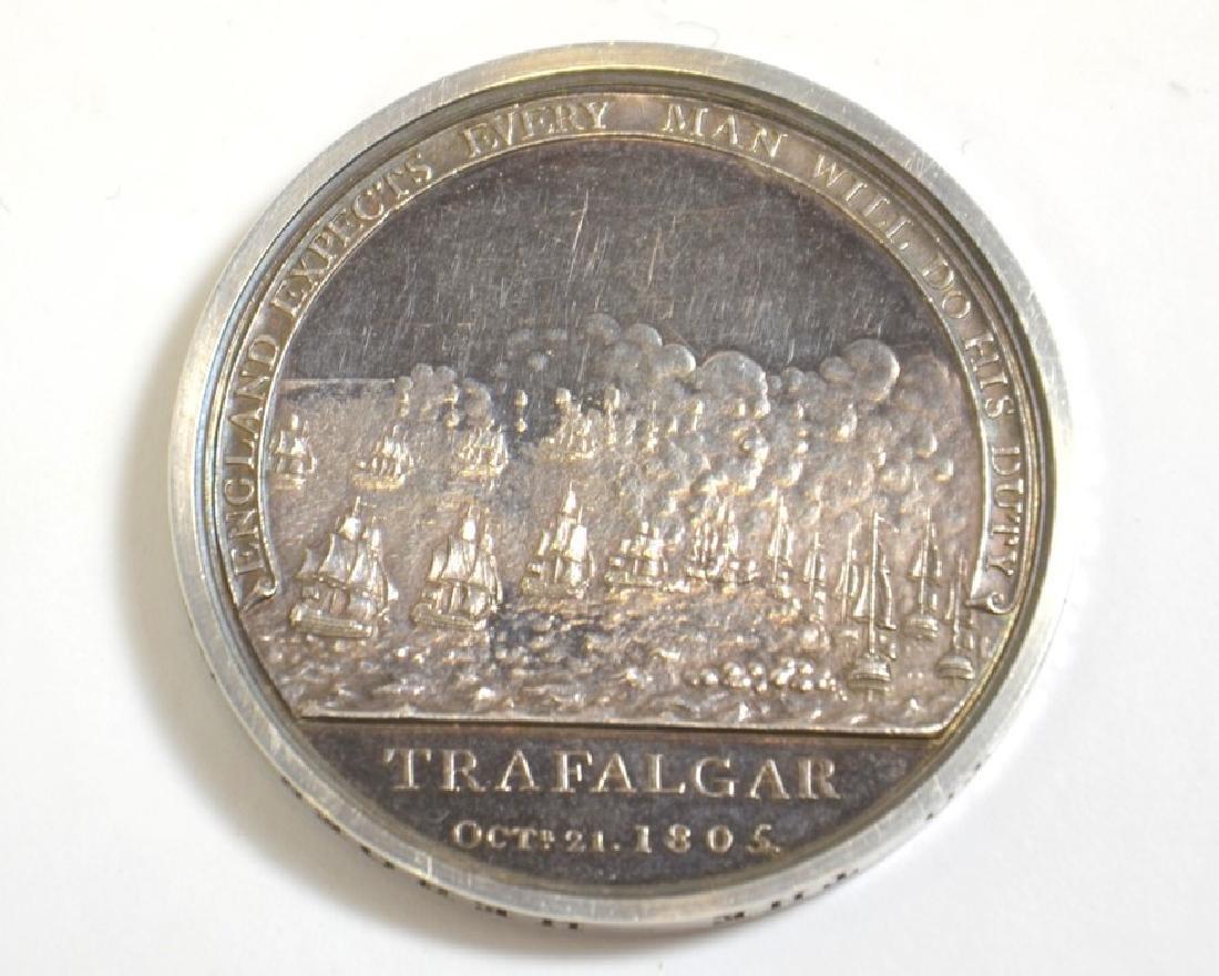 British Medals, Boulton's Trafalgar medal, silver medal - 2