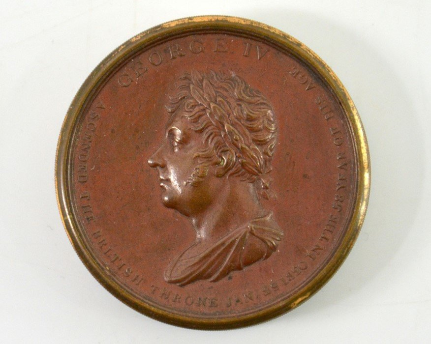 British Medals, George IV, Coronation Box Medal 1821, - 2