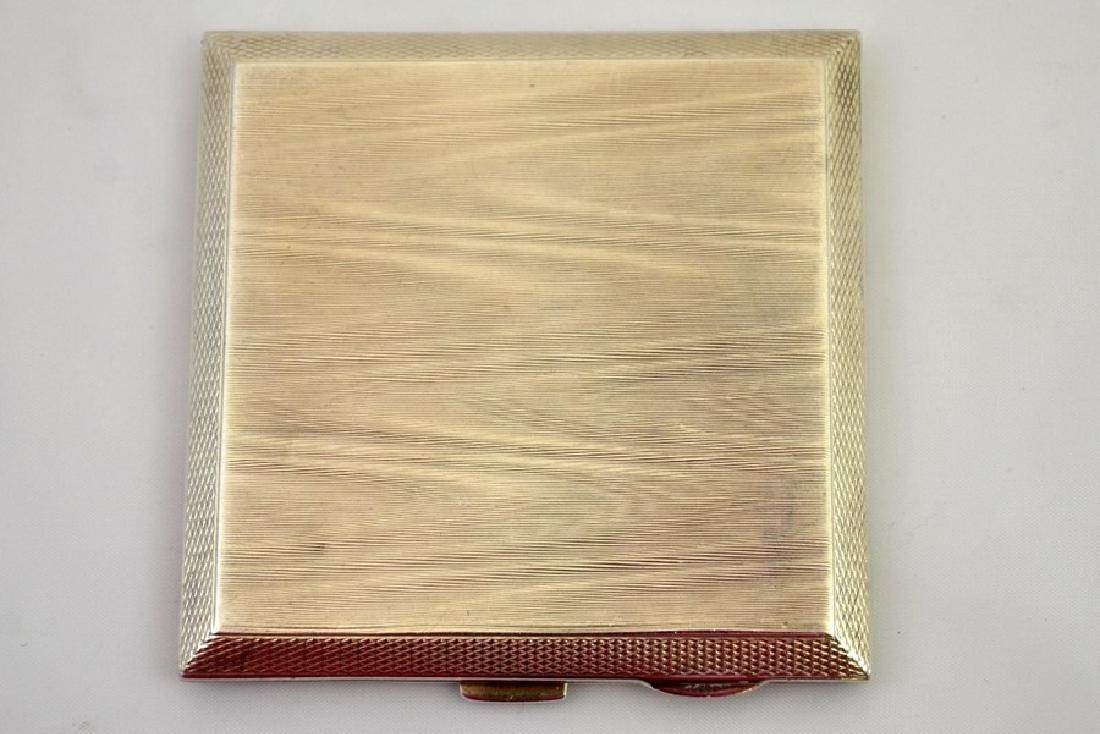 A silver cigarette box by S Blanckensee & Son Ltd, - 2