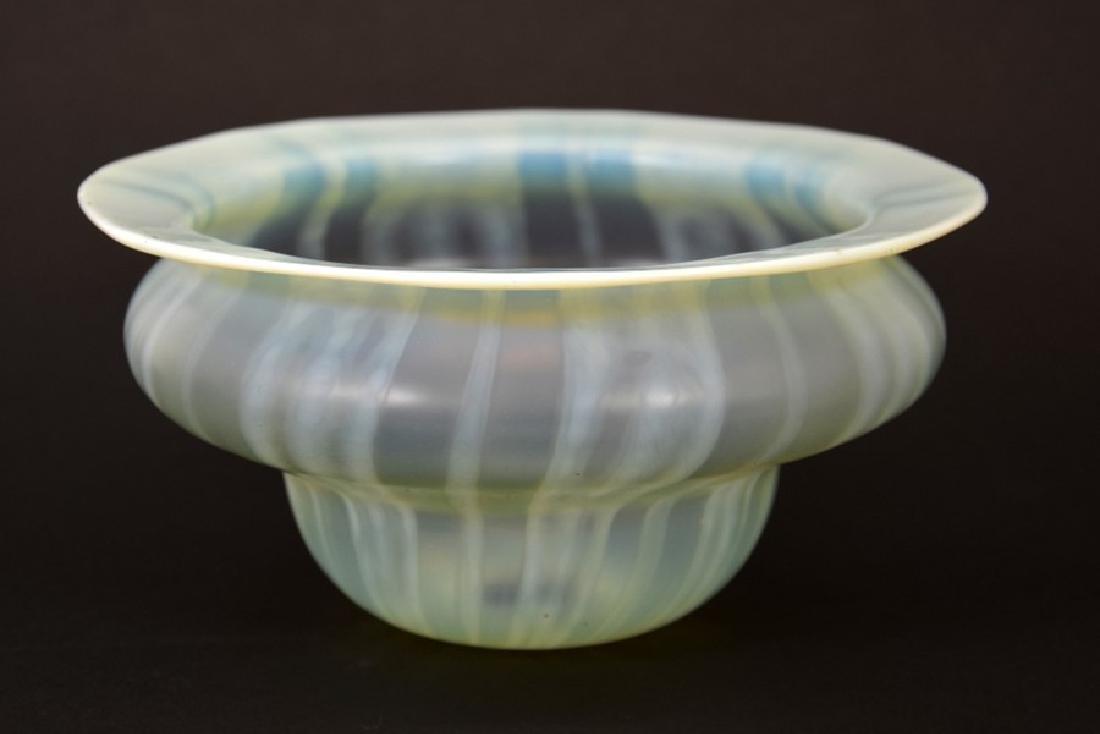 John Walsh Walsh, an Arts and Crafts glass light shade,