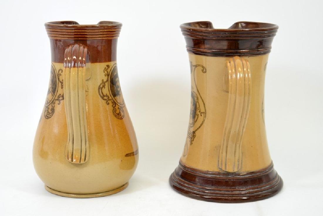A Doulton Lambeth stoneware commemorative jug, South - 3