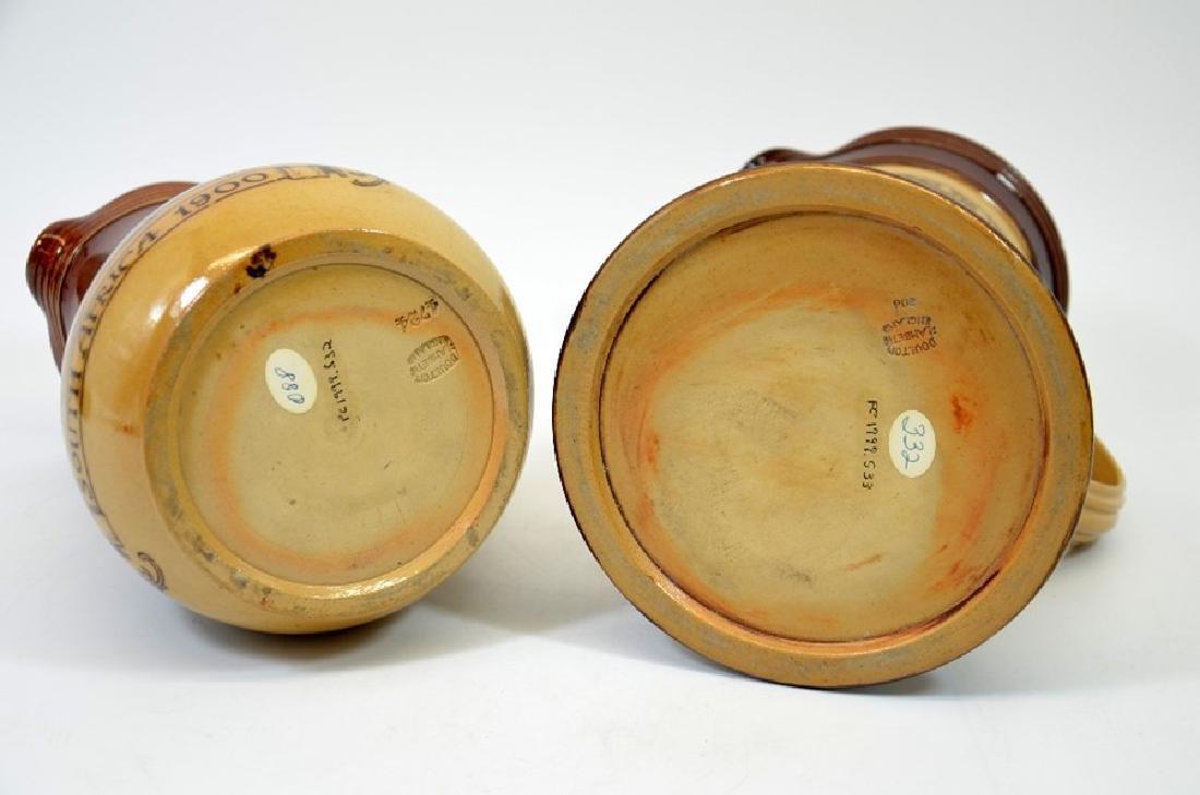 A Doulton Lambeth stoneware commemorative jug, South - 5