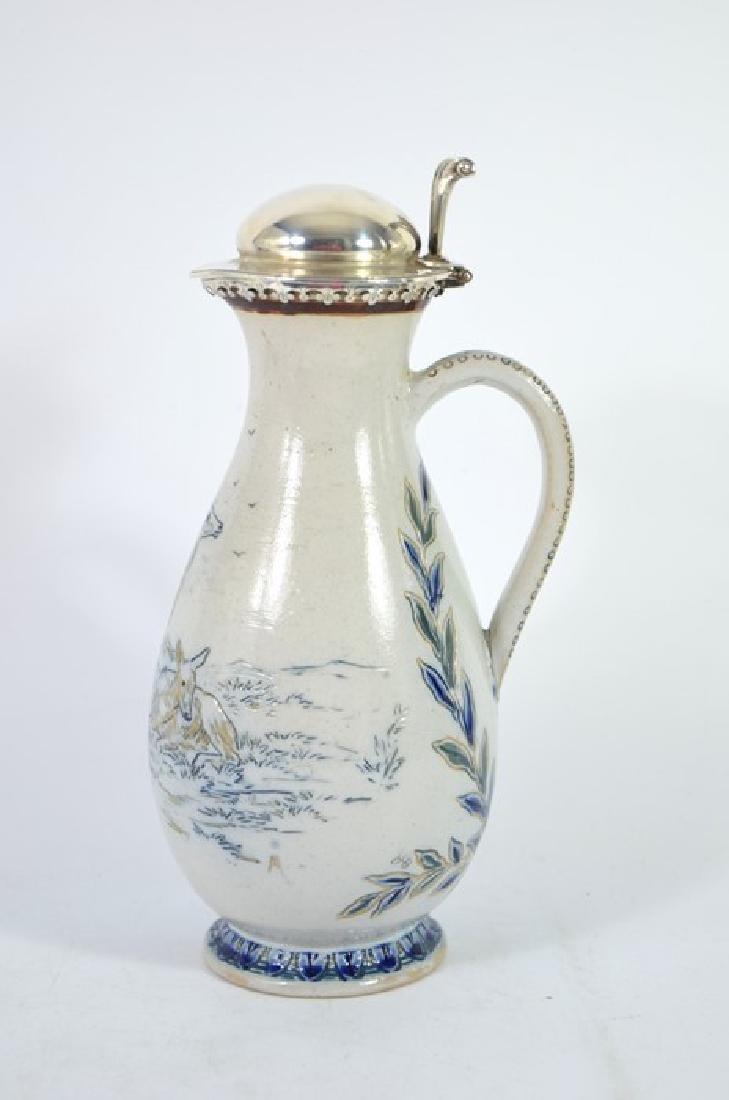 Hannah Barlow for Doulton Lambeth, a stoneware jug, - 2
