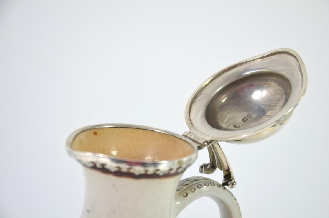Hannah Barlow for Doulton Lambeth, a stoneware jug, - 5