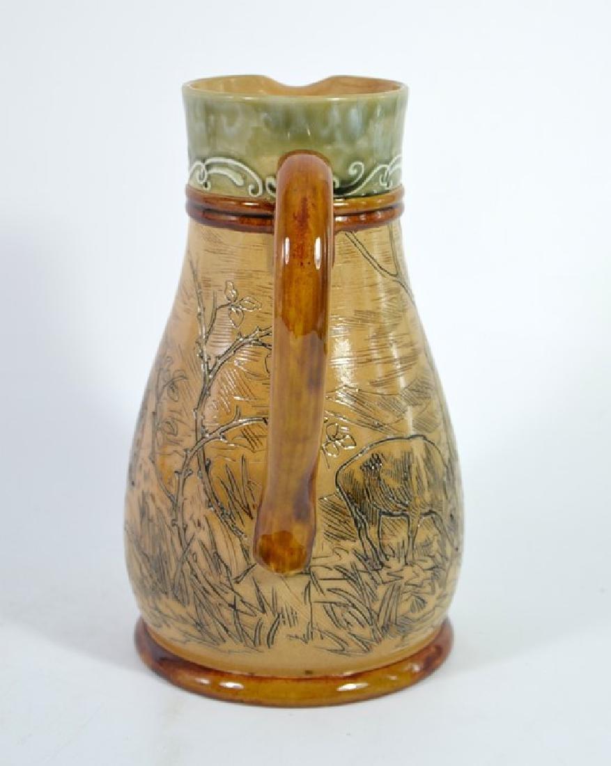 Hannah Barlow for Doulton Lambeth, a stoneware jug, - 4