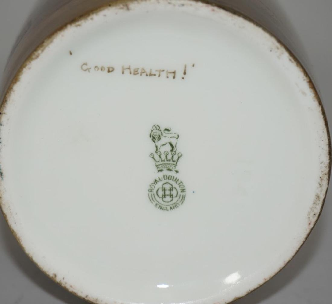 R Holdcroft for Royal Doulton, a hand-painted vase - 3