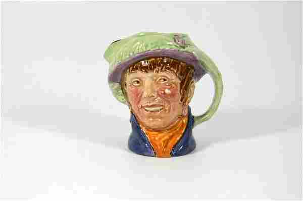 A Royal Doulton small character jug, Pearly Girl, with
