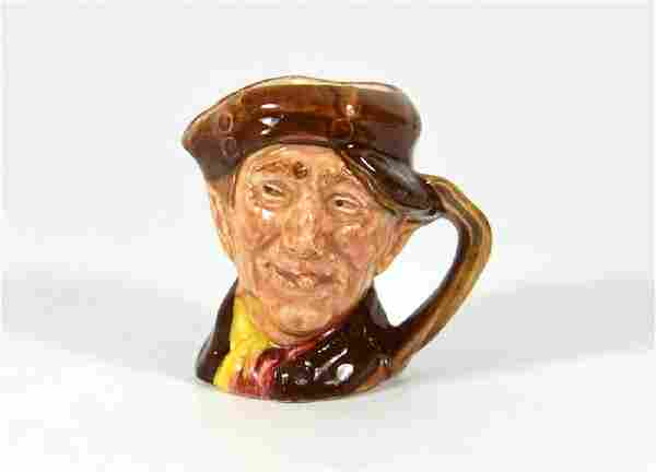 A Royal Doulton miniature size character jug, Pearly