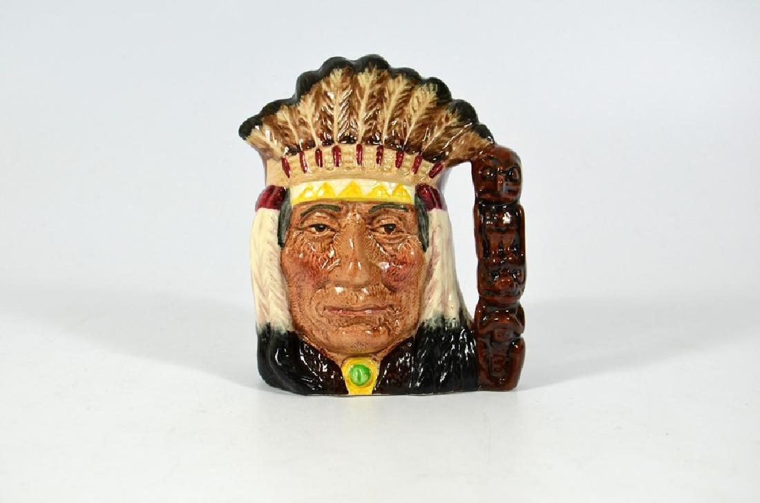 A Royal Doulton small prototype character jug, The