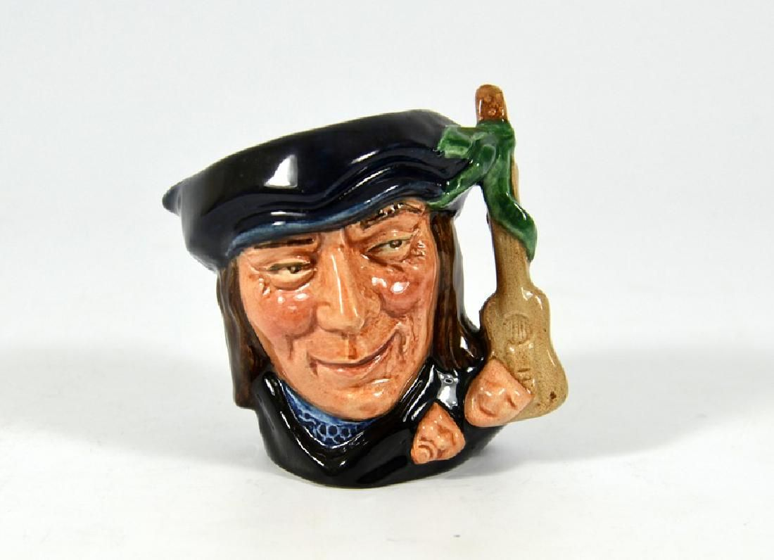 A Royal Doulton miniature size character jug,