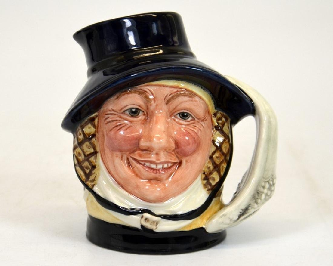 A Royal Doulton prototype mid size character jug 'The