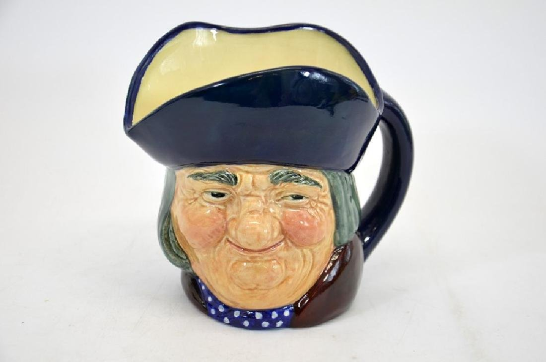 A Royal Doulton large character jug, Toby Philpots, in