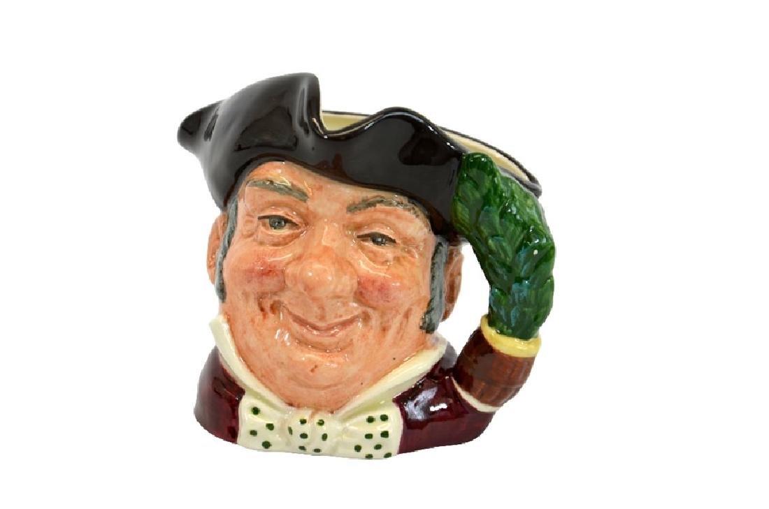A Royal Doulton small prototype  character jug, Mine