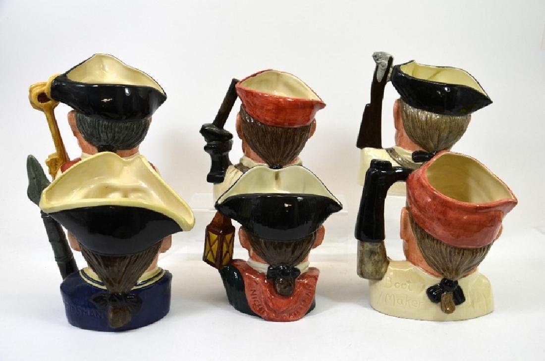 Six Royal Doulton large character jugs, comprising - 2