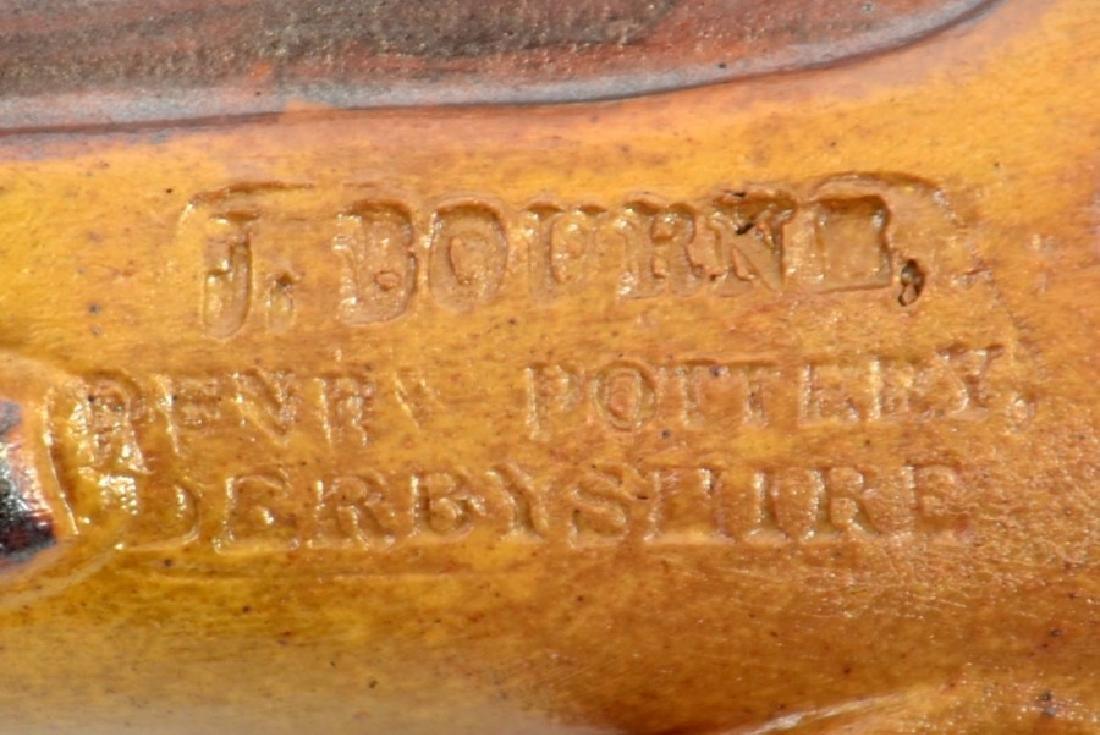 J Bourne, a Denby Pottery salt glazed stoneware pistol - 3