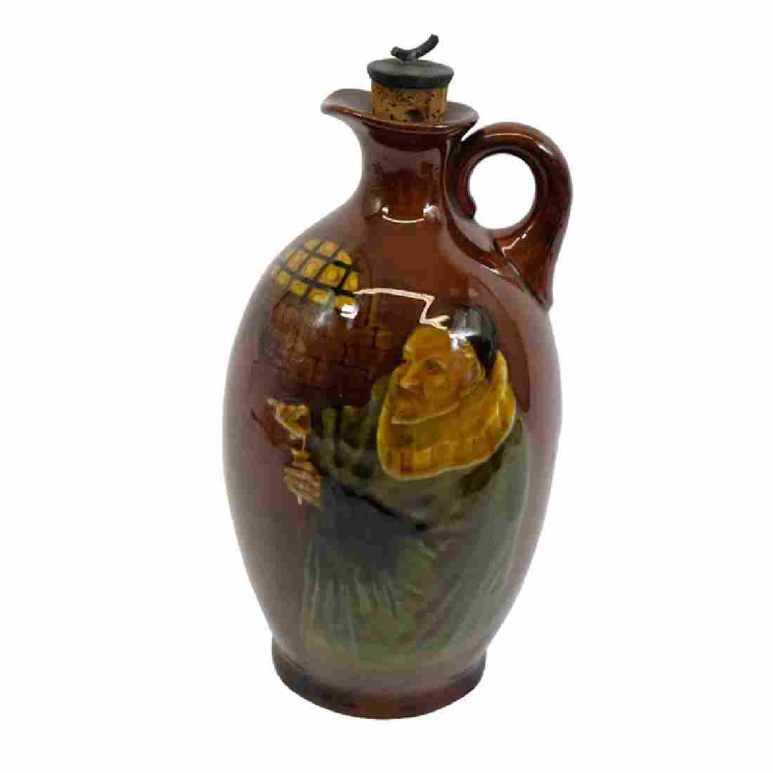 A Royal Doulton Kingsware Apothecary whisky jug, ovoid