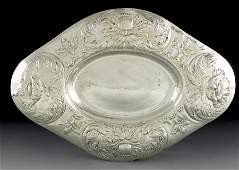 Gilbert Marks, an Arts and Crafts Britannia silver