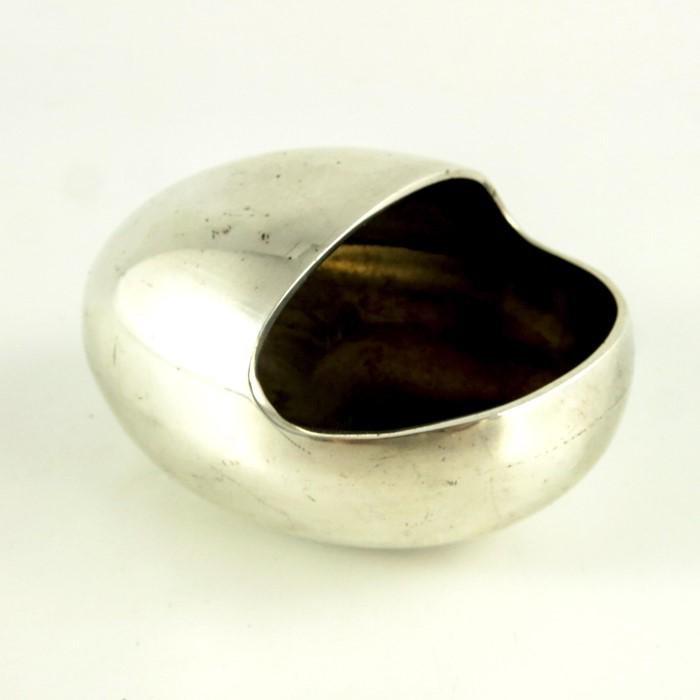 Hans Bunde for Cohr, Denmark, a Modernist silver plated