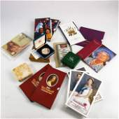 Royal Mint coins and sets, Three silver proof crowns,