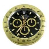 A Rolex dealer display clock, Oyster Perpetual Daytona