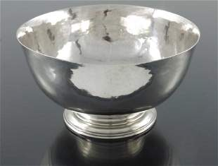 After Paul Revere an American Revivalist silver bowl