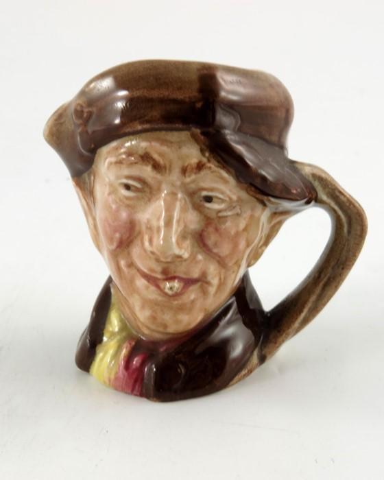 A Royal Doulton miniature character jug, Pearly Boy,