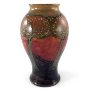 William Moorcroft, a large Eventide vase, circa 1925,
