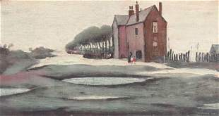 Laurence Stephen Lowry RA 18871976 Lonely House