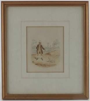 George Cruikshank 17921878 Sikes Attempting to