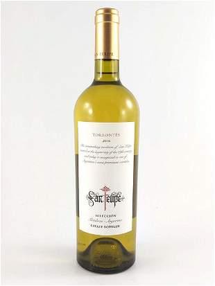 San Felipe Seleccion Torrontes 2016 twelves bottles