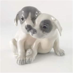 Erik Nielsen for Royal Copenhagen a Pointer Puppies