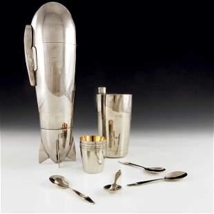 J A Henckels, Zwilling, Solingen, an Art Deco silver