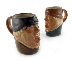 Harry Simeon for Doulton Lambeth, two novelty stoneware