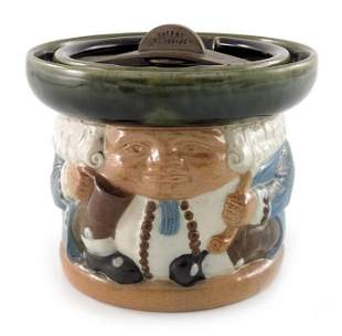 Harry Simeon for Doulton Lambeth, a stoneware Toby