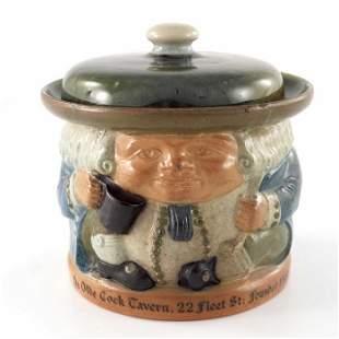 Harry Simeon for Doulton Lambeth, a stoneware Toby jar