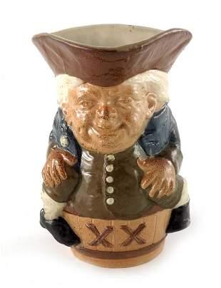 Harry Simeon for Doulton  Lambeth, a stoneware Toby XX