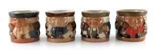 Harry Simeon for Doulton Lambeth, four stoneware Toby