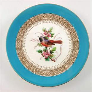John Hopewell (attributed) for Royal Worcester, a bird