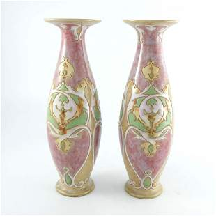 Francis Pope for Royal Doulton, a pair of stoneware